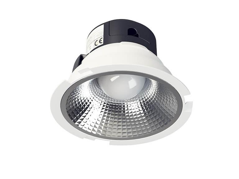 micoled oświetlenie biurowe downlight