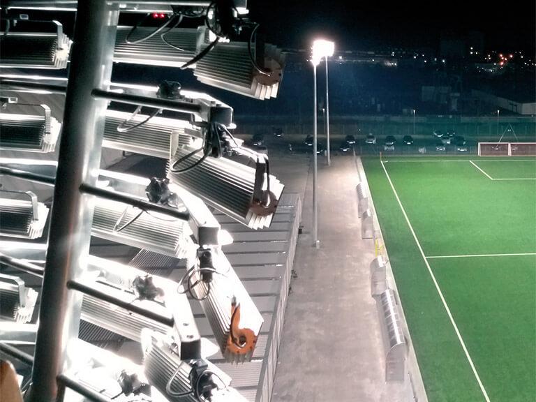 micoled oświetlenie stadionu lampa led projektor pro sport