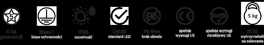 micoled certyfikaty lamp led em projektor pro